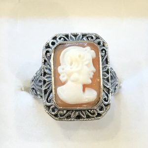 Genuine Cameo Rings